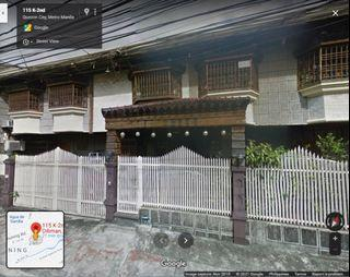House and Lot Kamuning For Sale