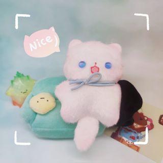 JJK Cat Gojo Satoru Plush Doll Keychain