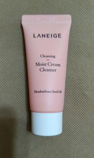 Laneige 溫和水嫩潔面乳  Moist Cream Cleanser