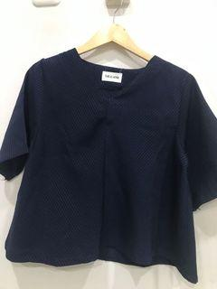 Navy top this is april