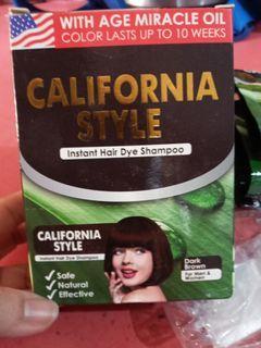 No-Ammonia / Non-toxic Instant Hair Dye Shampoo for Men and Women