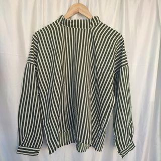 Oversize Stripe Blouse