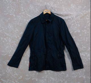 Prada Modello Coach Jacket in Navy