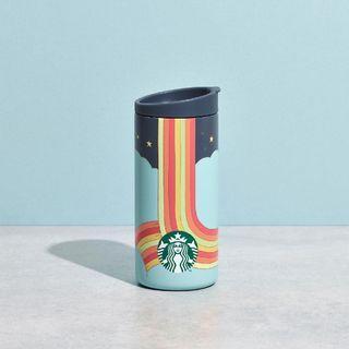 🆕 Starbucks X MiiR Limited Edition Rainbow Road Stainless Steel Tumbler