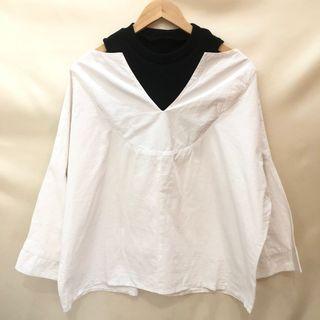 White Blouse Off Shoulder