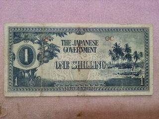 1 Shilling Oceania Japanese Invasion 1942  Banknote
