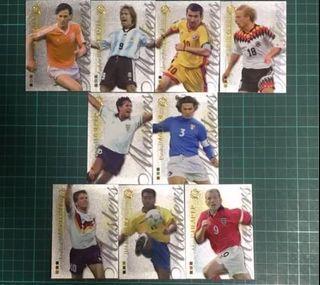 2004年世界杯球星特別咭全套