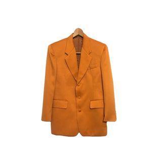 ·新裝裏百貨行· 80s 木瓜橘三釦西裝外套