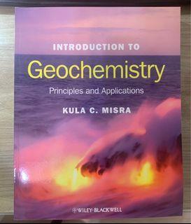 地球化學 geochemistry