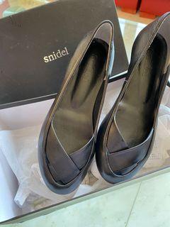 純日本製 日本帶回Snidel皮革設計圓頭鞋