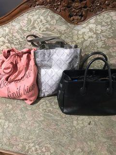 Authentic All Japan Bags Bundle Set Of 3 For The Price Of One