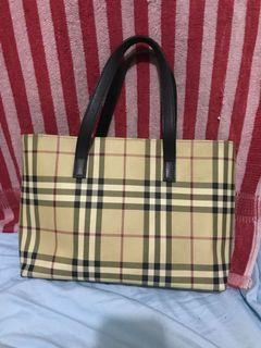 Authentic BURBERRY LONDON tote