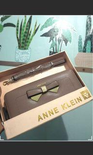 BNEW AK Anne Klein long wallet not coach mk ck