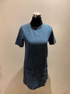 Cotton On Blue Denim Dress