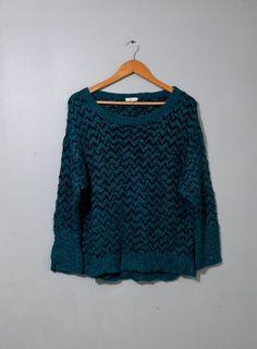 Elbow Patch Knitted Sweater