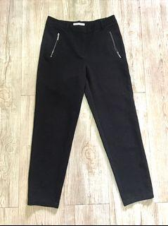 Esprit Black Trousers with Zipped Pockets