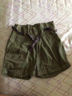 House Belted Shorts