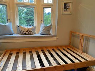 IKEA pine single bed EXCELLENT NEW CONDITION