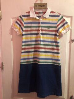 Lacoste dress sz 36 small to medium 17x32 as new japan exclusive