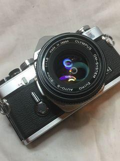 Olympus OM1N & Lens