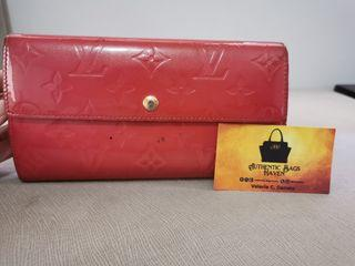 Original Louis Vuitton Vernis Wallet