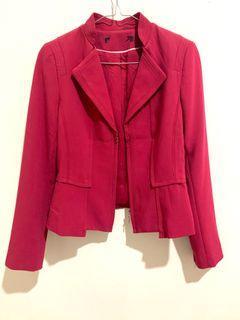 red blazer feminim