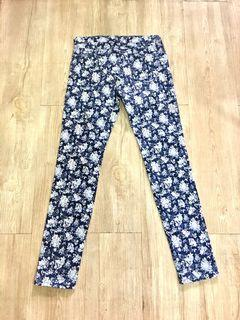 Uniqlo Floral Skinny Jeans