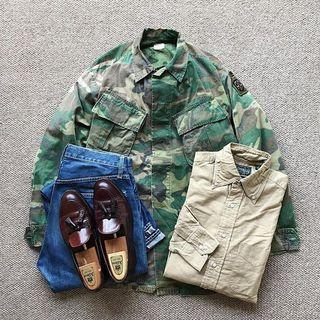 Vintage USMC BDU jacket