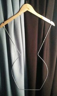 Wooden body shaper hanger
