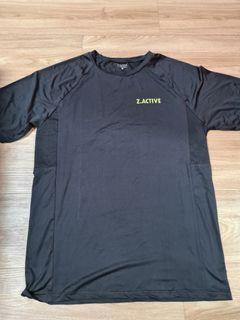 ZALORA Black DriFit T-Shirt