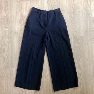Zara Navy Blue Culottes