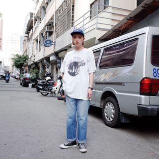 90s Lee淺藍直筒牛仔褲 古著 二手選物 Vintage