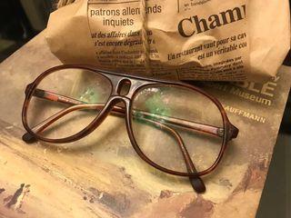老件 古董 德國製 眼鏡 鏡框