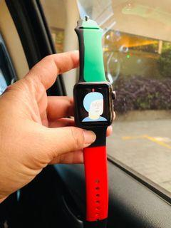 Apple Watch series 3 38mm iwatch hitam mulus