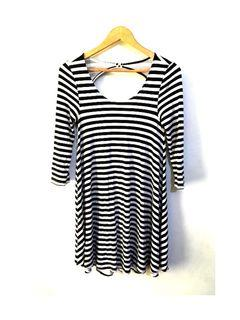 Authentic American Eagle Womens Striped Dress Size Small