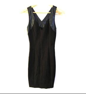 Authentic Guess Los Angeles Womens Black Dress Size Small