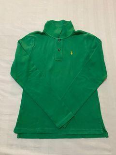 Authentic Ralph Lauren Kids Long sleeves Green Collared  Shirt Top