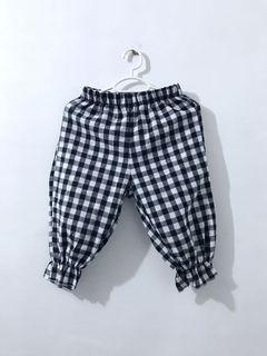 baby girl plaid pants