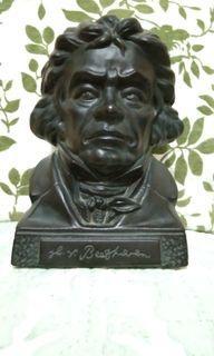 Beethoven Ceramic Sculpture