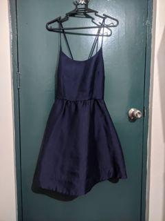 Blue Classic Dress