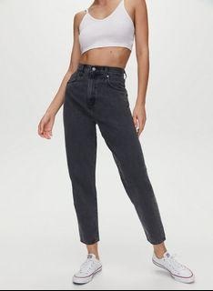 BNWT Levi's High loose tapered jeans 26Wx27L Lose control (black)