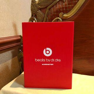 BOX: BEATS BY DR. DRE AUTHENTIC - MONSTER (box only) IN PERFECT CONDITION (Headphones Headset)