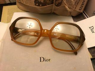 Christian Dior 法式優雅 漸層 古董 眼鏡 鏡框
