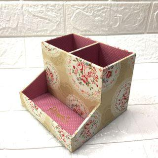 Floral Print Organizing Box