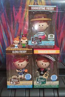 Freddy Funko Vinyl & Cereal Toy Funko Pop Bundle