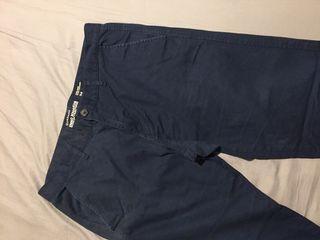 Giordano 深藍長褲