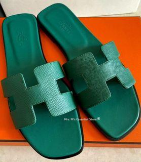 ☆DUBAI PRE-ORDER☆ Auth H Oran Sandals in Epsom Leather