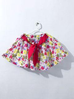kids floral skirt