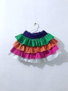 kids layered skirt