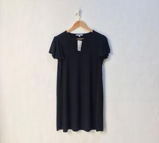 Loose Black Tshirt Dress